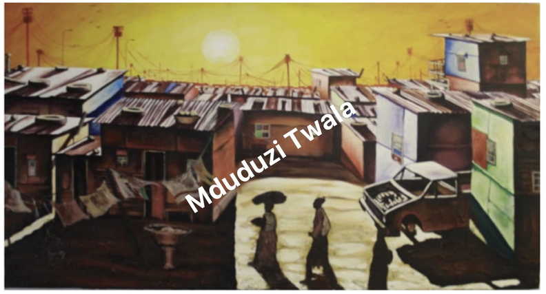 Mduduzi Twala The Sun Downer Acrylic On Canvas _Fotor upld.jpg