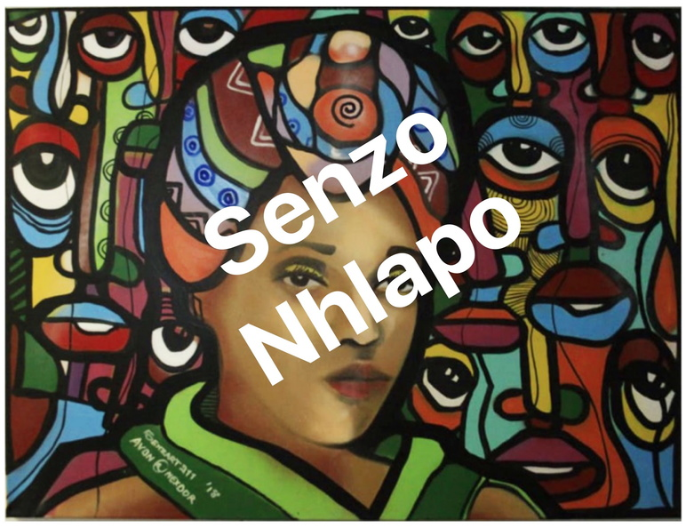 Senzo Nhlapo African Princess Spray,Acrylic On Canvas _Fotor upld.jpg